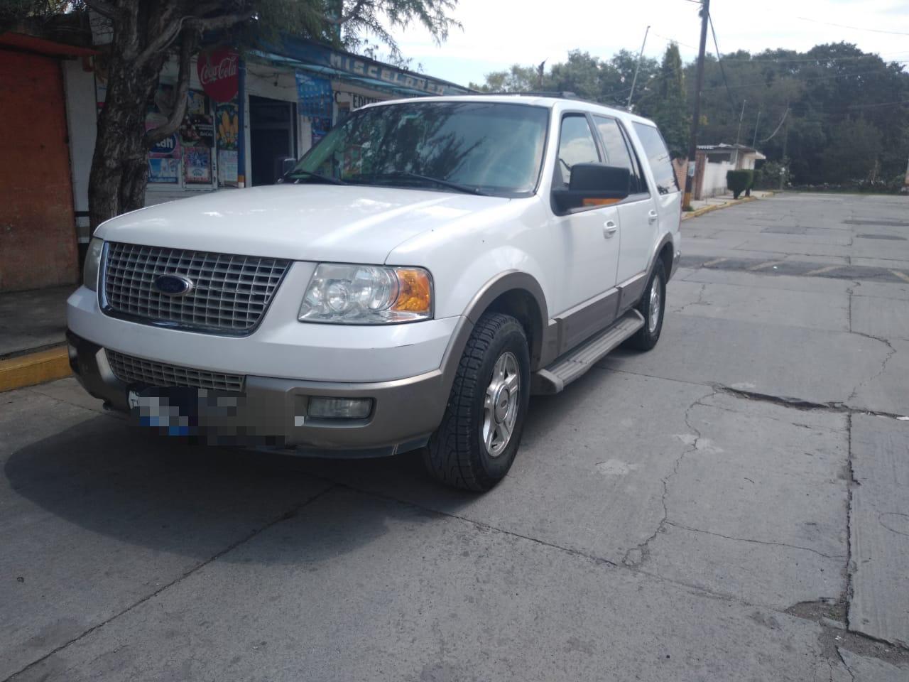 Recupera Policía de Apizaco camioneta con reporte de robo