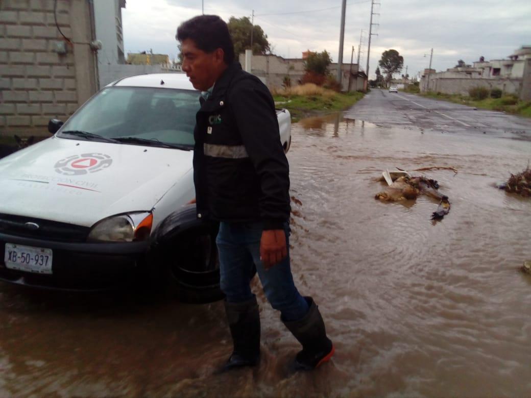 Protección Civil municipal reporta sin inundaciones por lluvias de ayer