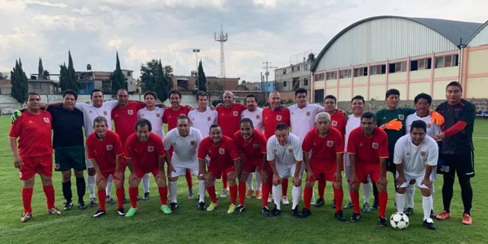 Garrido Cruz impulsa a jugadores de fútbol del Estado