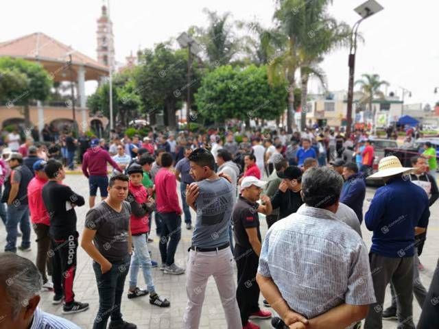 Jesús Herrera presidente corrupto y mentiroso: pobladores