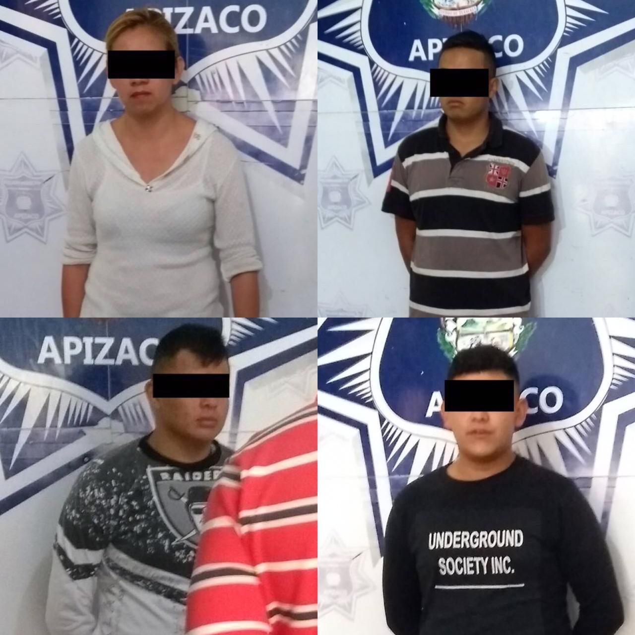 Sentencian a secuestradores detenidos por la policía de Apizaco