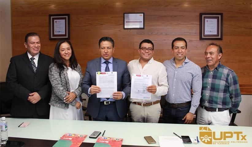 Firman convenio UPTX y Secretaría de Seguridad Ciudadana
