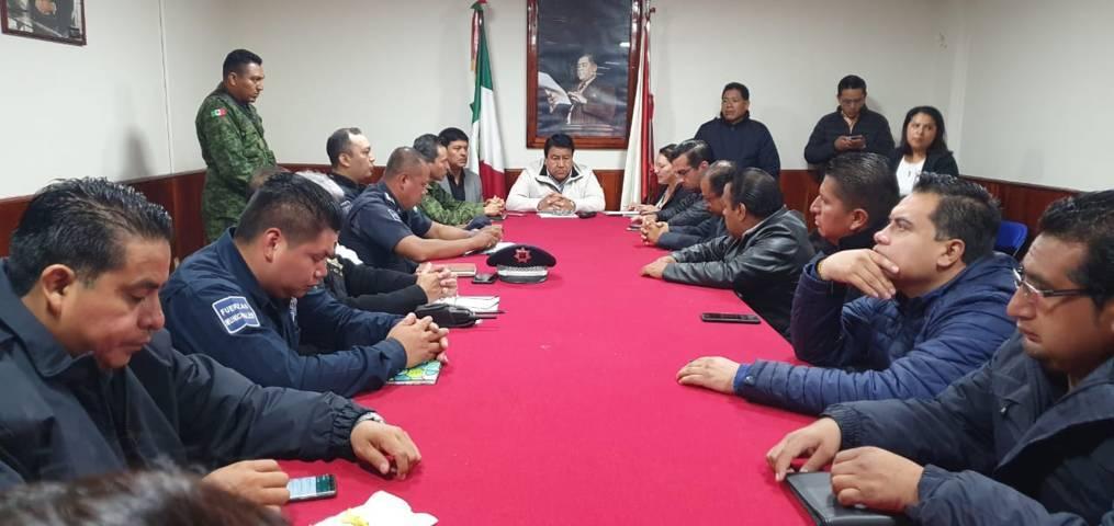 Tlaltelulco fue sede de la reunión de seguridad región 02