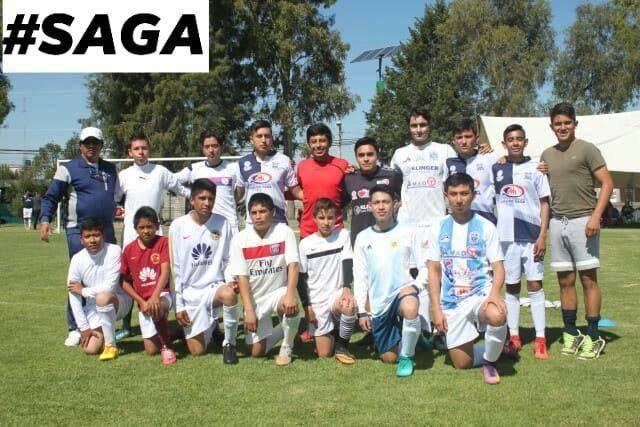 Saga Star Juniors F'C participa  en el Sur de Tlaxcala en partido amistoso