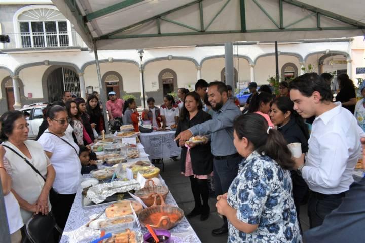 Misiones Culturales en Zacatelco finalizó sus cursos con exposición de trabajos