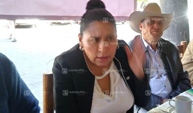 Ana Lilia tiene miedo que la madruguen y quede en ridículo