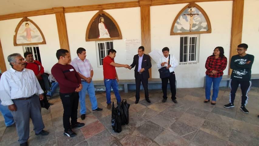 Patronato de Feria Tlaltelulco 2019 contribuyo a la restauración de la parroquia