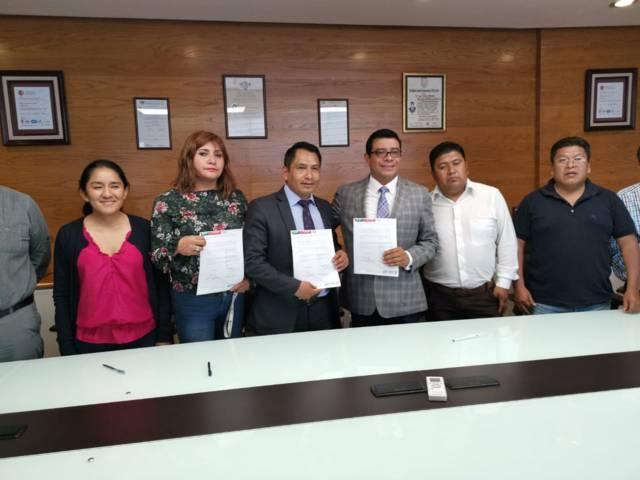 UPTx coadyuvará en diseño de Plan Territorial Operativo en Quilehtla