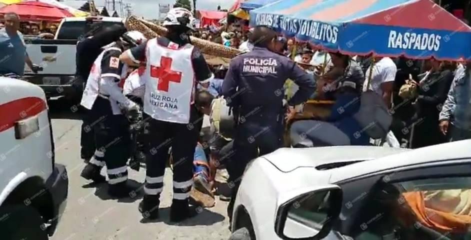 Reportan nueva balacera en el mercado  nuevo de Chiautempan