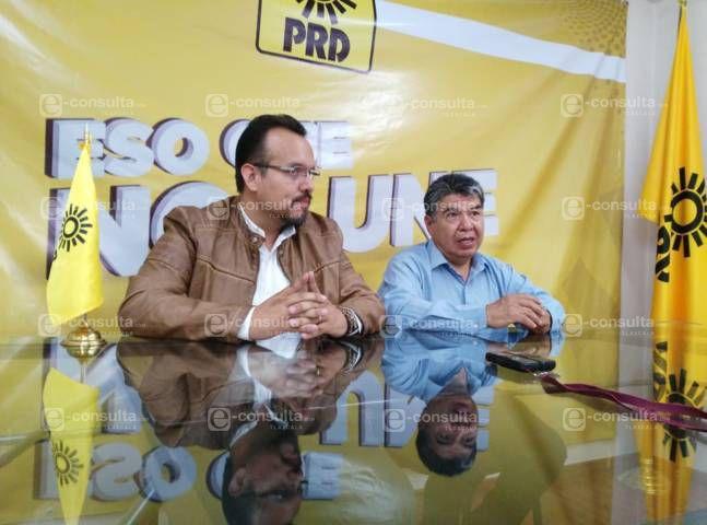 Amaro, Sesín y Calzada, quieren la dirigencia del PRD en Tlaxcala