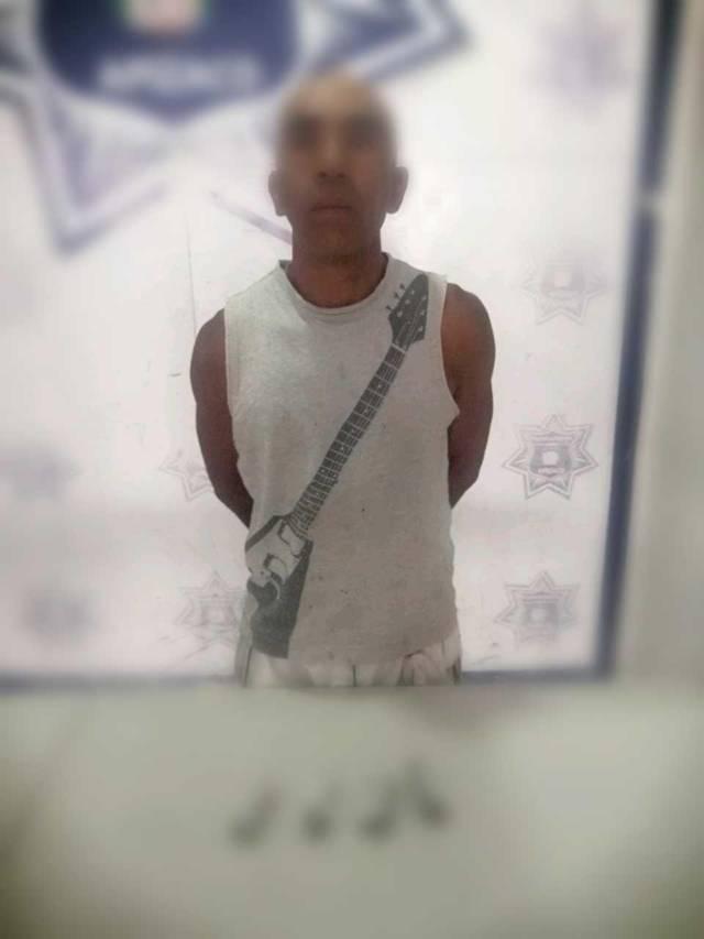 Frustra Policía de Apizaco fuga de narcomenudista
