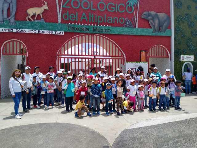 Los niños visitaron el Zoológico en los cursos de verano: AHL