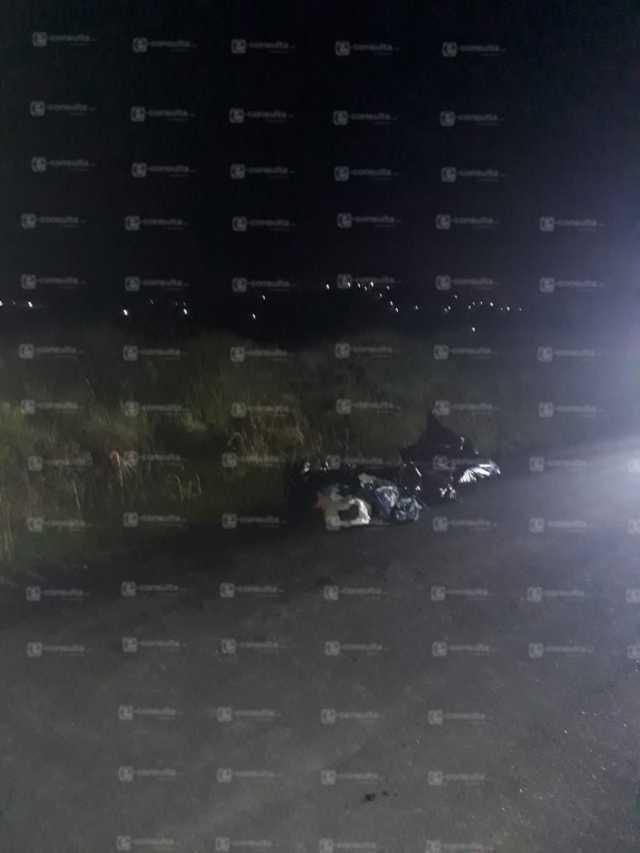 Mujer embolsada es hallada en Tzompantepec