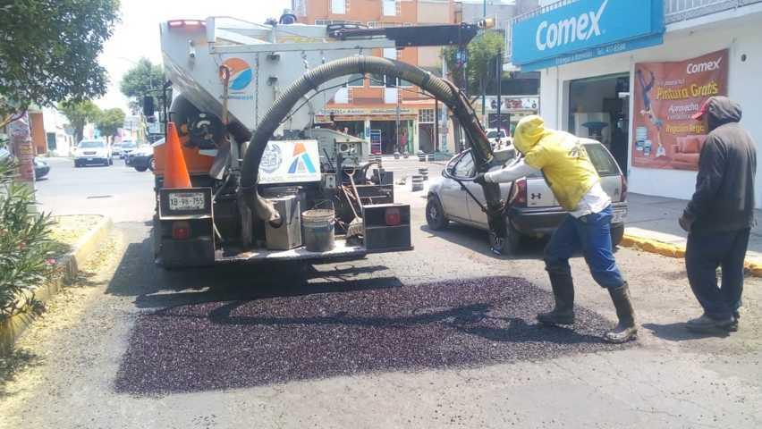 Cumple HOPE un año en Apizaco con más de 400 calles bacheadas