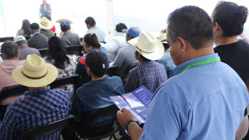 Imparten en Apizaco ''Foro de Inclusión Financiera al Pequeño Productor del Campo''