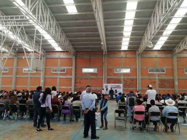 Asisten más de 400 personas a asamblea de Partido Encuentro Solidario