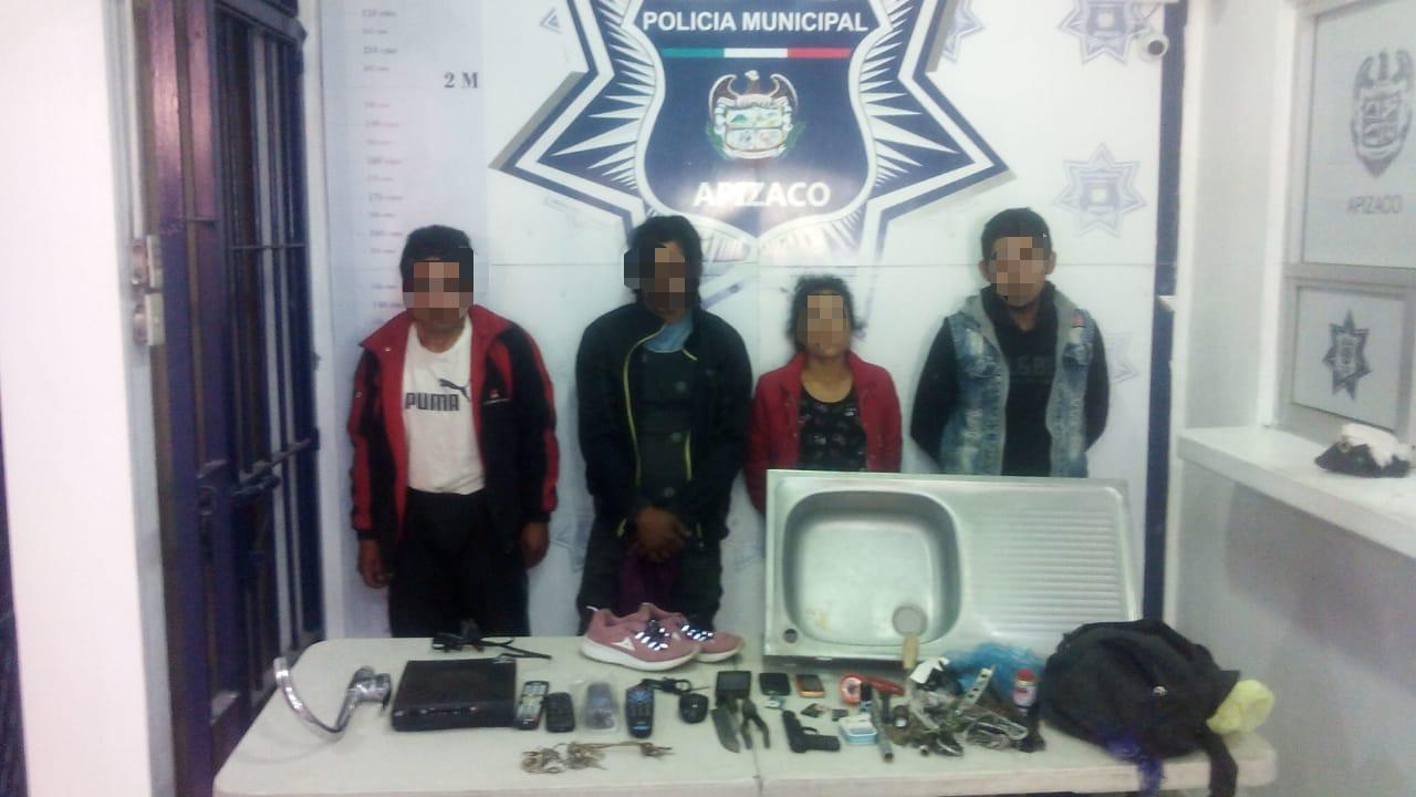 Frustra Policía de Apizaco robo a casa habitación
