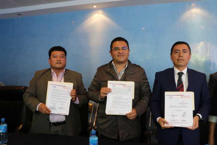 Se firma Convenio de Coordinación en Materia de Temas Anticorrupción en Apizaco
