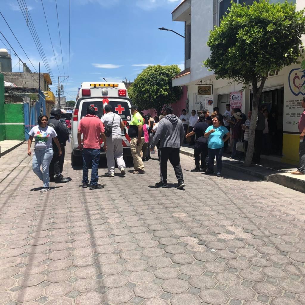 Protección Civil y policías del municipio apoyaron a lesionados por explosión