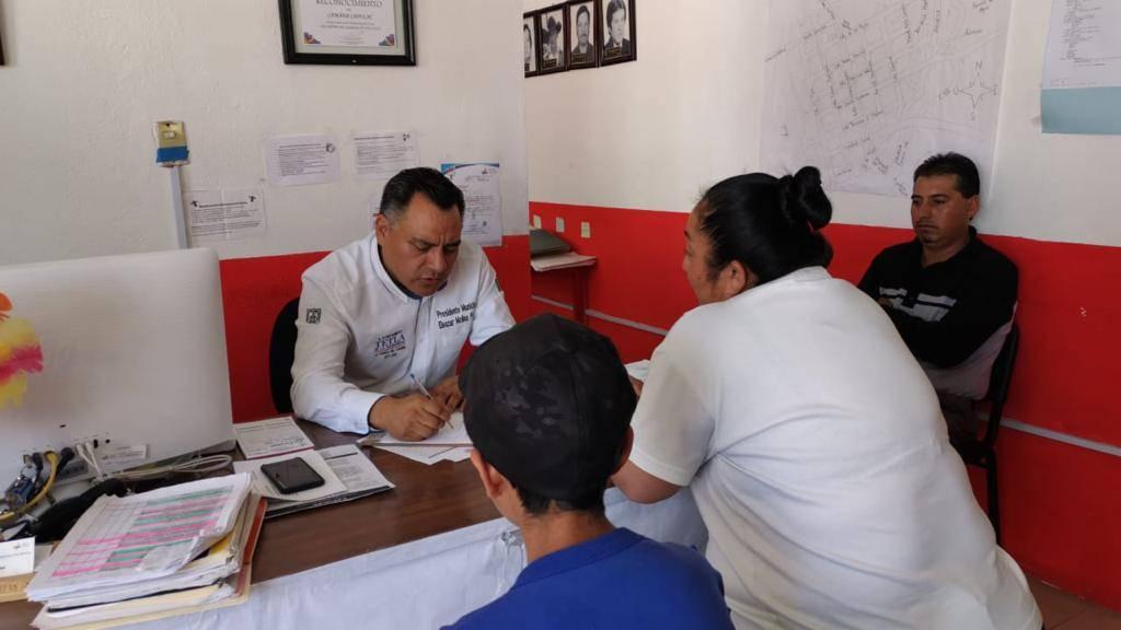 Alcalde visita las 12 comunidades para escuchar a los ciudadanos y saber sus necesidades