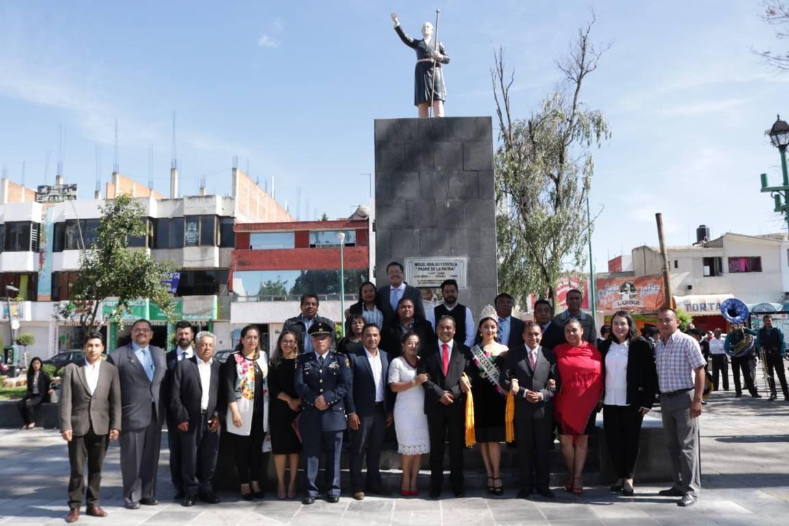 Alcalde de Chiautempan encabezo el inicio de las Fiestas Patrias