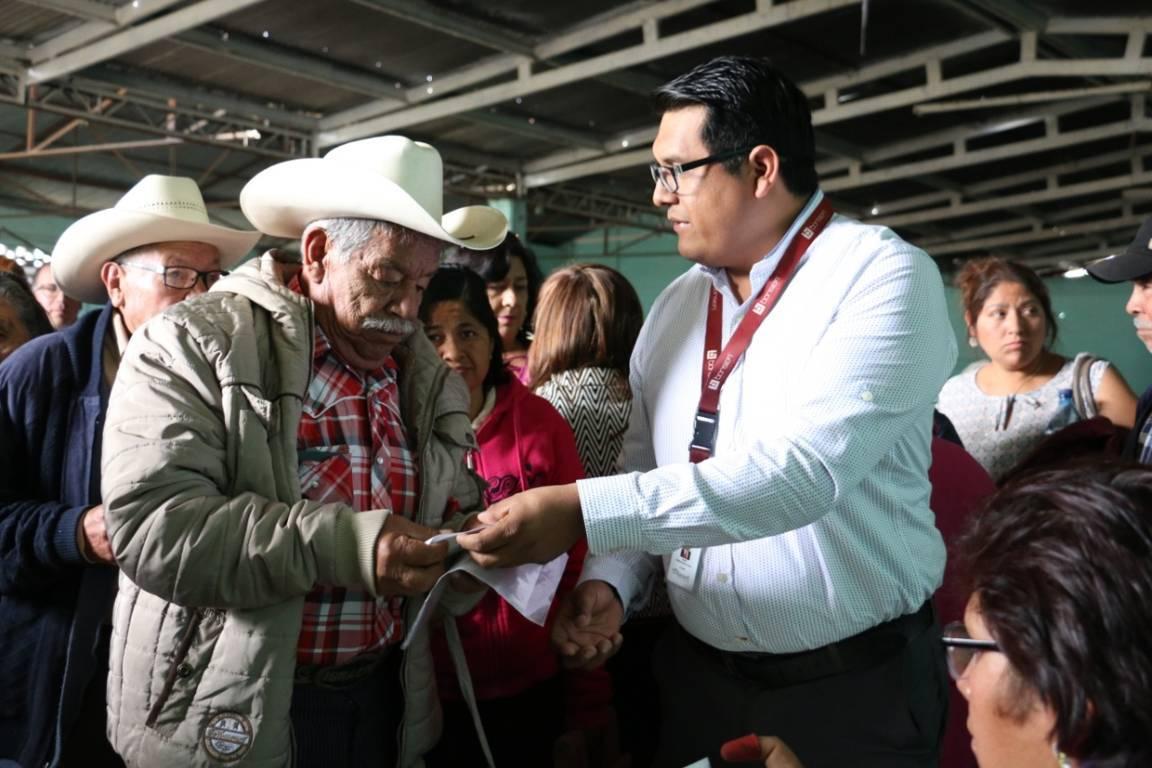Más de 231 mil tlaxcaltecas beneficiados en el primer año de Gobierno de AMLO