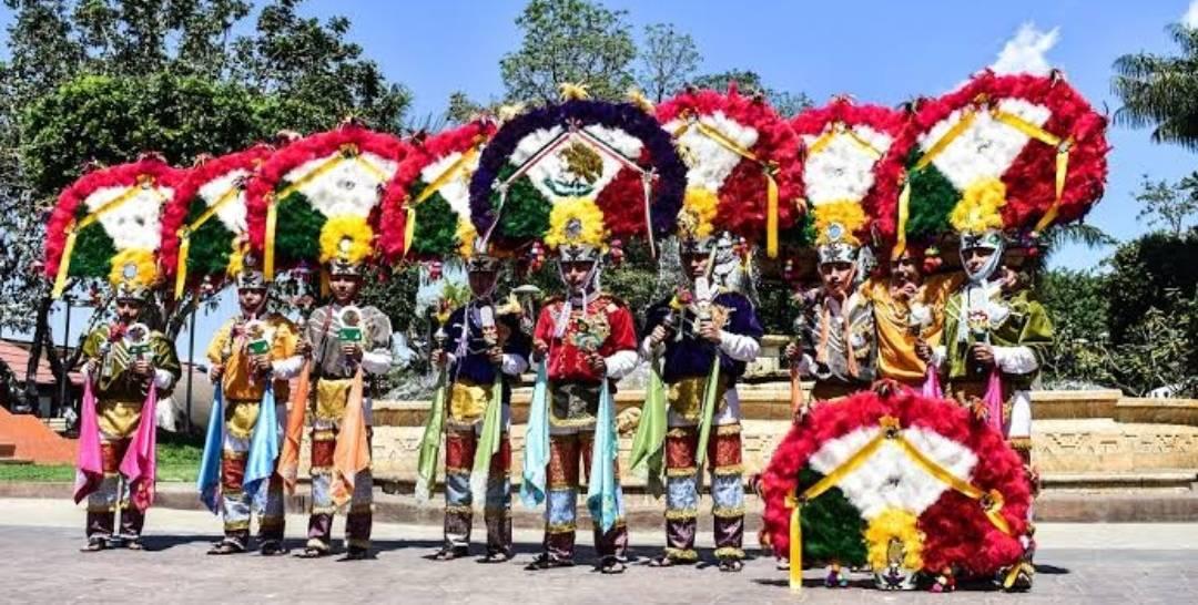 Representación de la Guelaguetza en la Romería Mexicana Apizaco