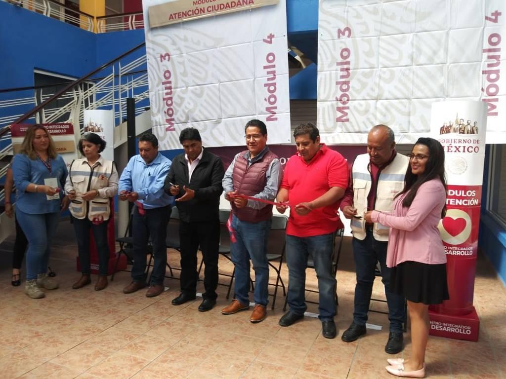 Inaugura Bienestar cinco Centros Integradores  de Desarrollo