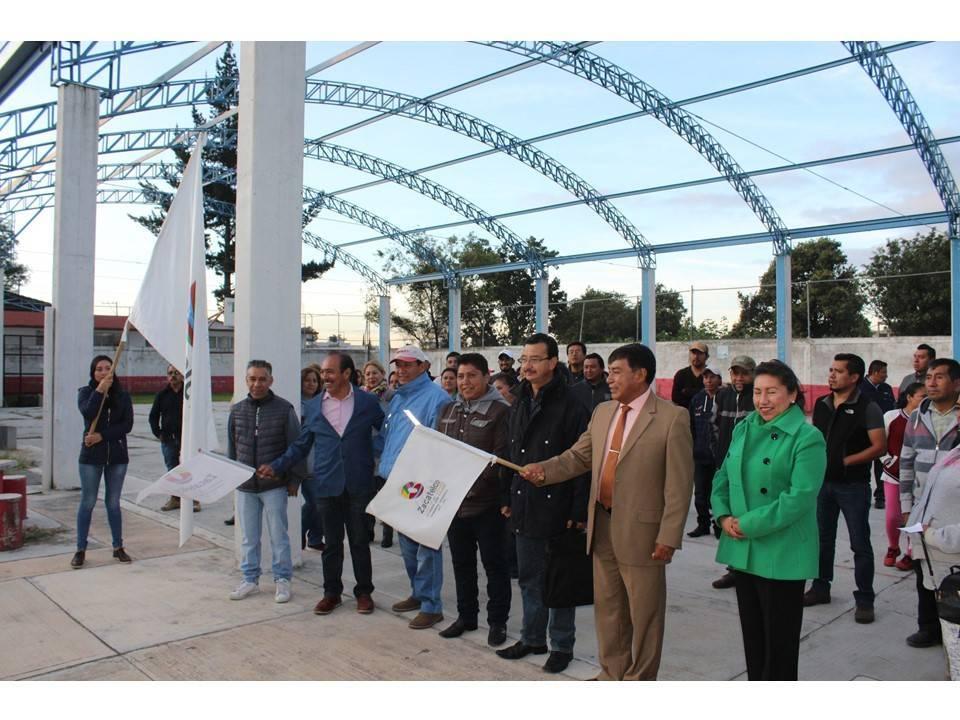 Hemos fortalecido la educación en el municipio con 13 techumbres: TOA