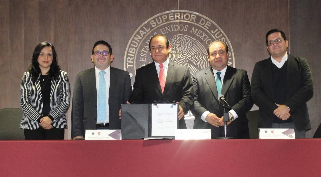 Firma Poder Judicial y AMMEL convenio de colaboración para capacitación en materia electoral