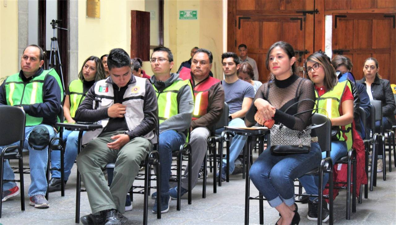 Imparte Poder Judicial curso de capacitación en materia de Protección Civil