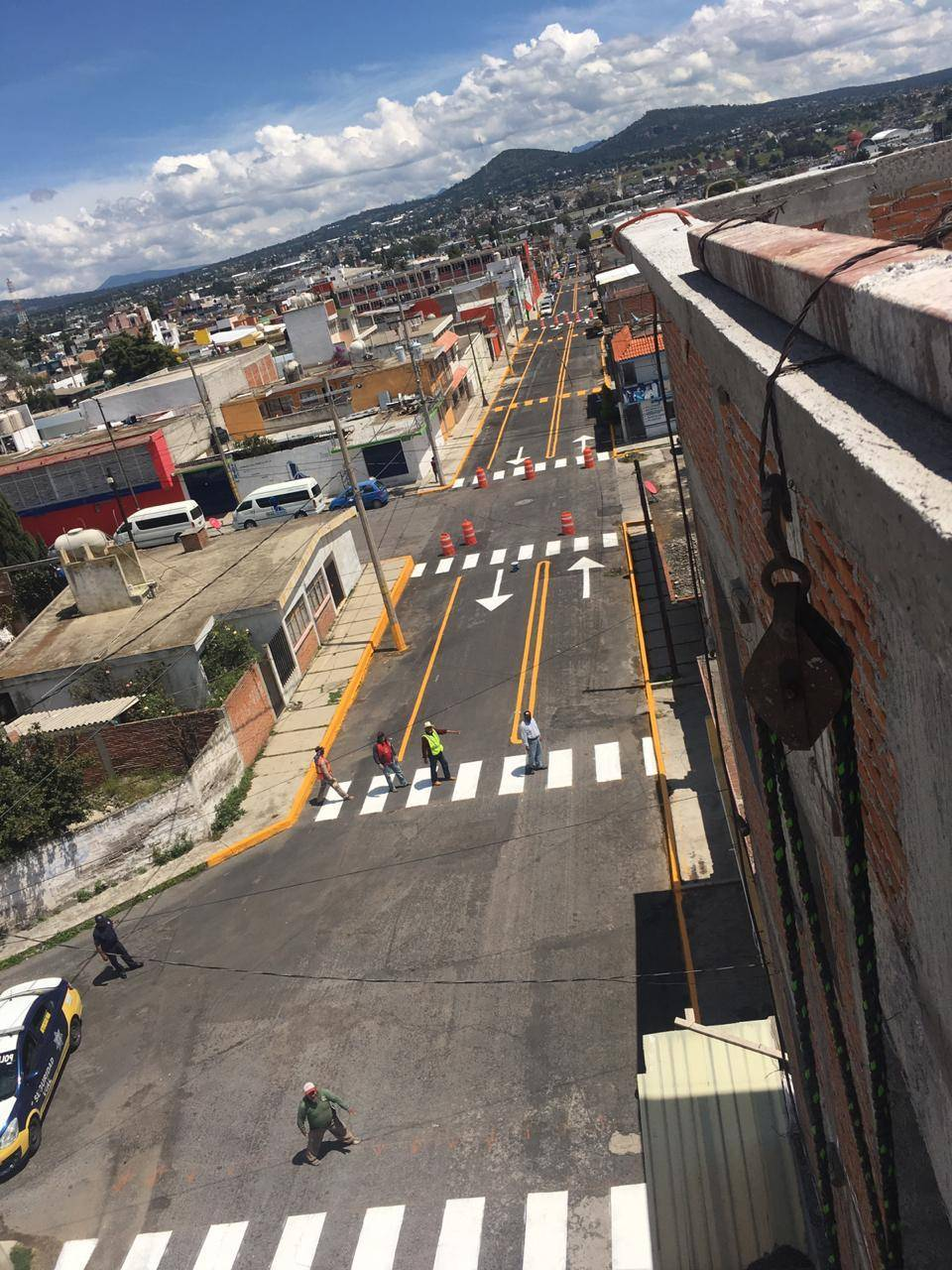 Continúa Imagen Urbana de Apizaco trabajos de mantenimiento