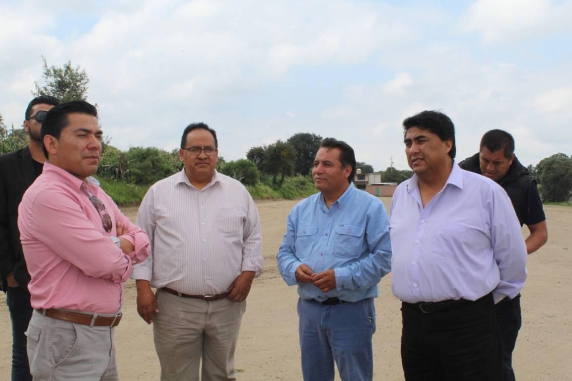 Inaugura Garrido calle arboledas en Cuaxomulco