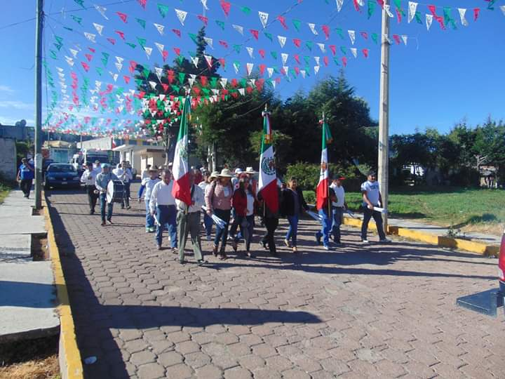 San José Teacalco alista festejos patrios
