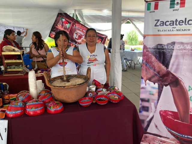 El Cacao y los artesanos llegaron al 1er encuentro Nacional de Artesanos en Cholula