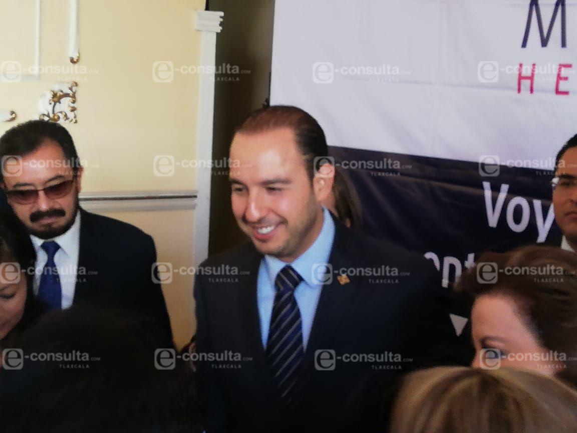 PAN va por la reducción de los impuestos ISR y el IVA: Marko Cortés