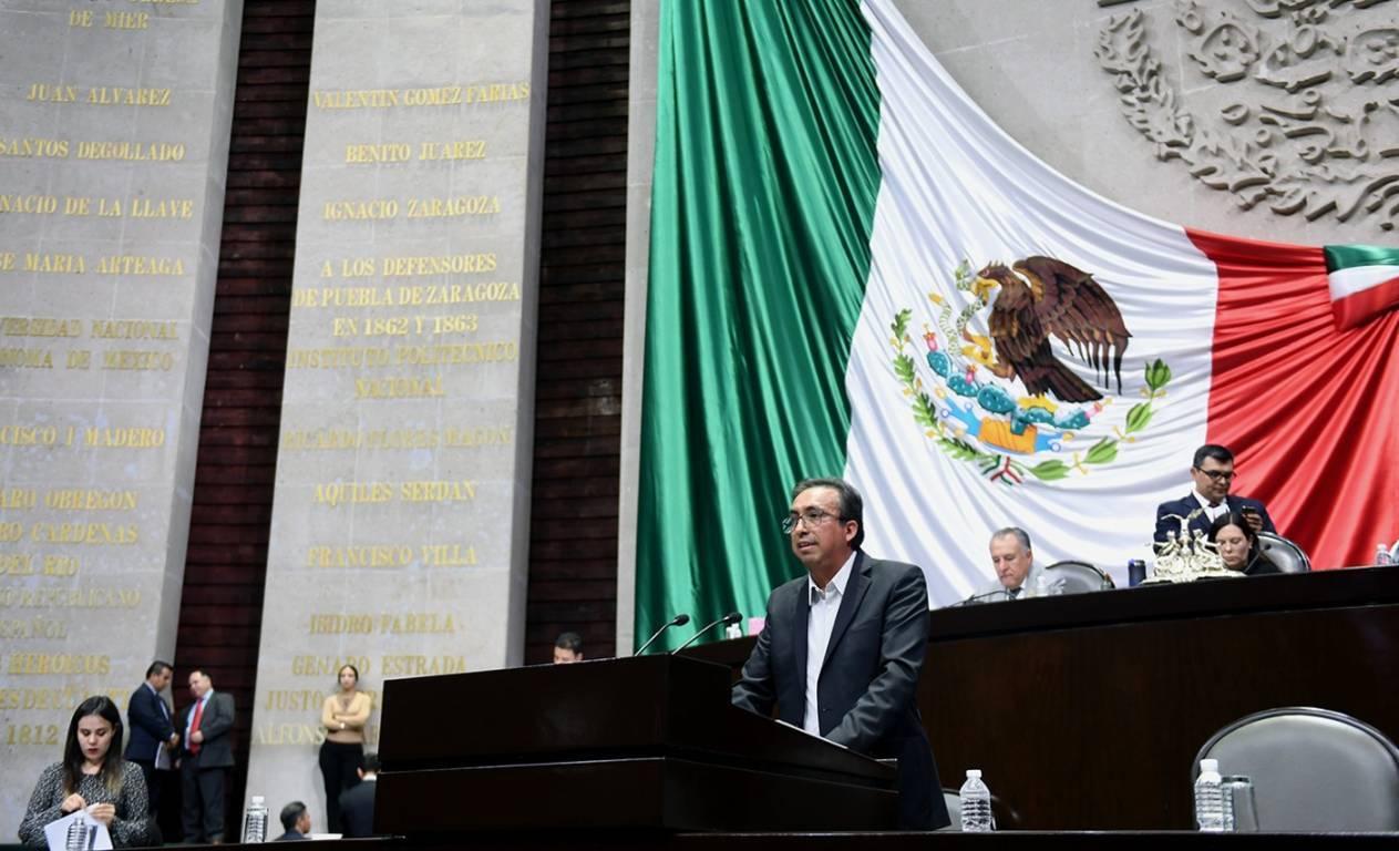 Carreón sigue proponiendo cosas sin fundamentos ante la Cámara de Diputados