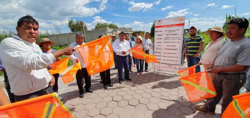 Con más obra pública avanzamos hacia un desarrollo: Pluma Morales