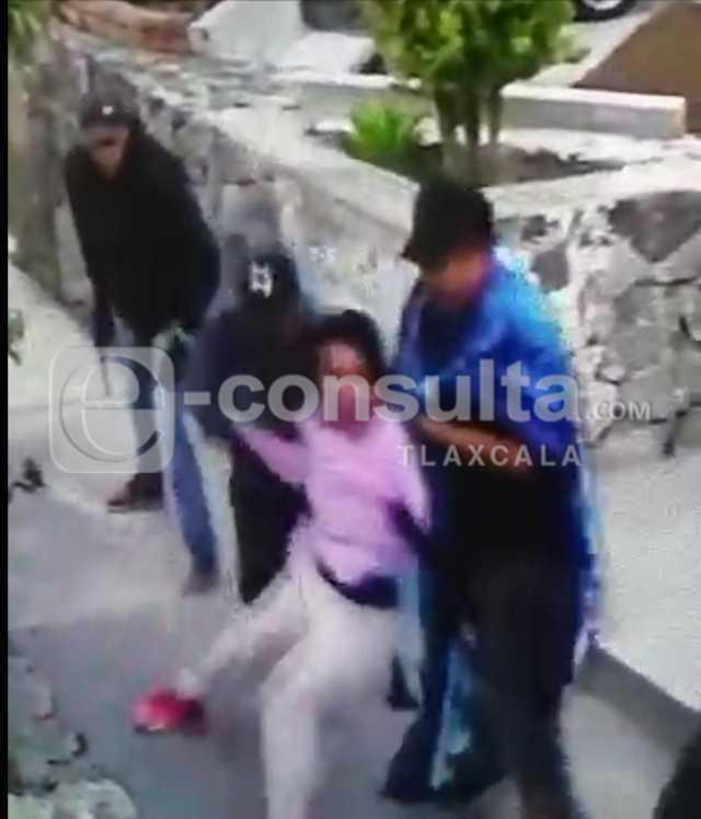 Vídeo registra secuestro de mujer en Huamantla; ya fue liberada