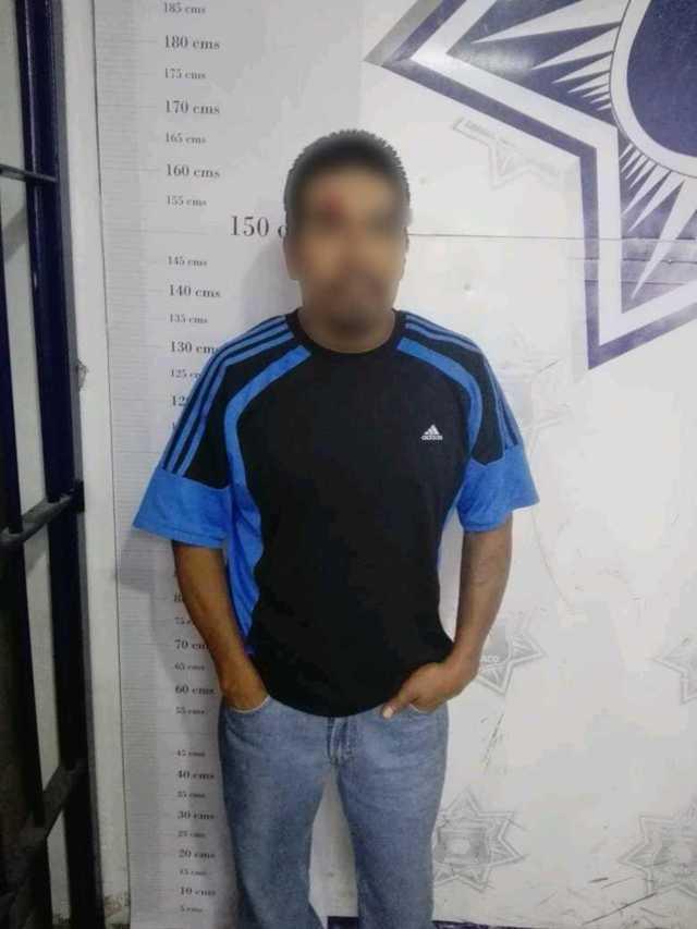 A disposición del MP sujeto detenido por robo en Apizaco
