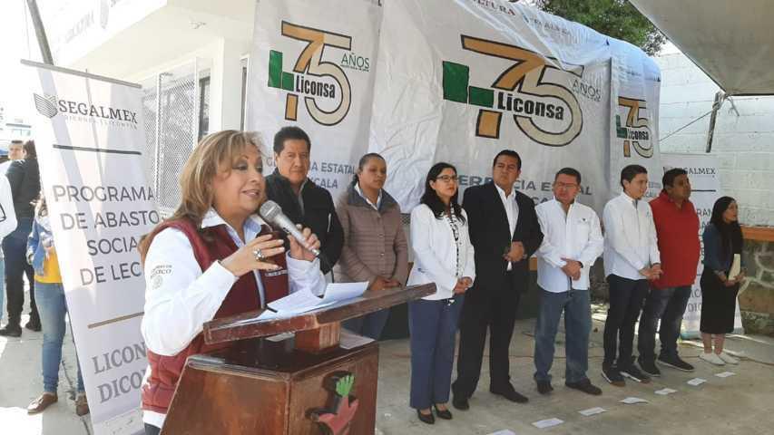 Abren lechería en Tzompantepec