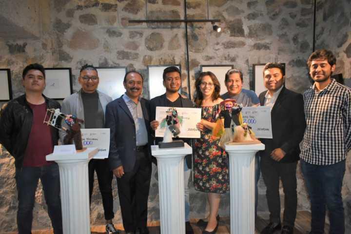 TOA promueve la tradición de los Chivarrudos en el 2do concurso de esculturas