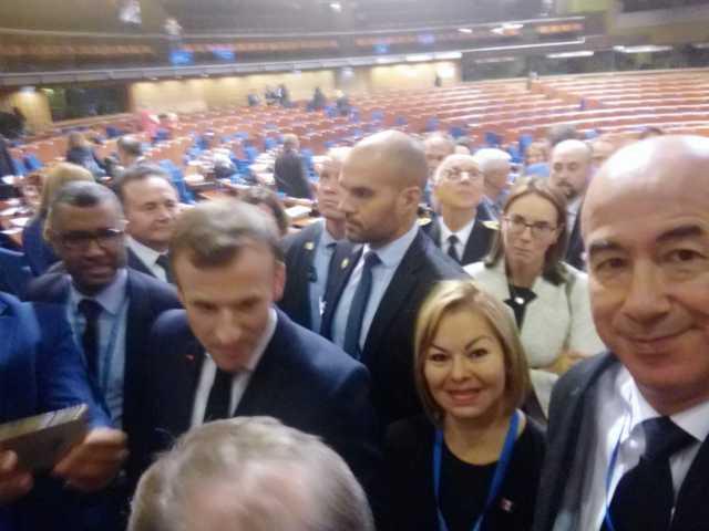 Minerva Hernández Ramos se pasea por Francia en plan de trabajo