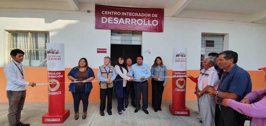 Alcalde abre las puertas del Centro Integrado de Bienestar