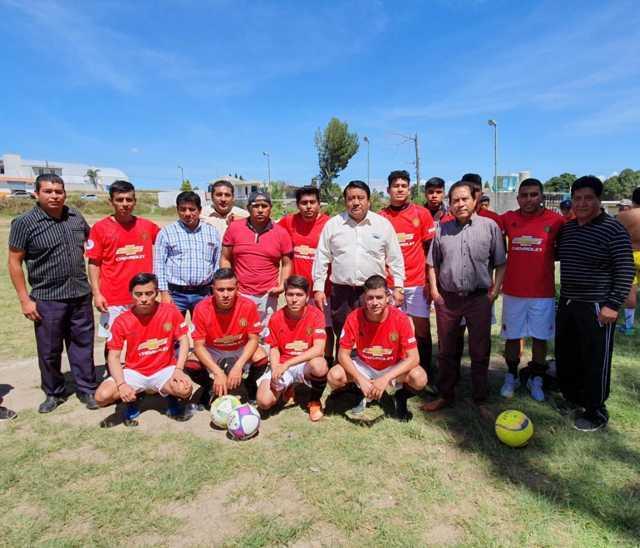 Impulsar el deporte es fortalecer el desarrollo de niños y jóvenes: alcalde