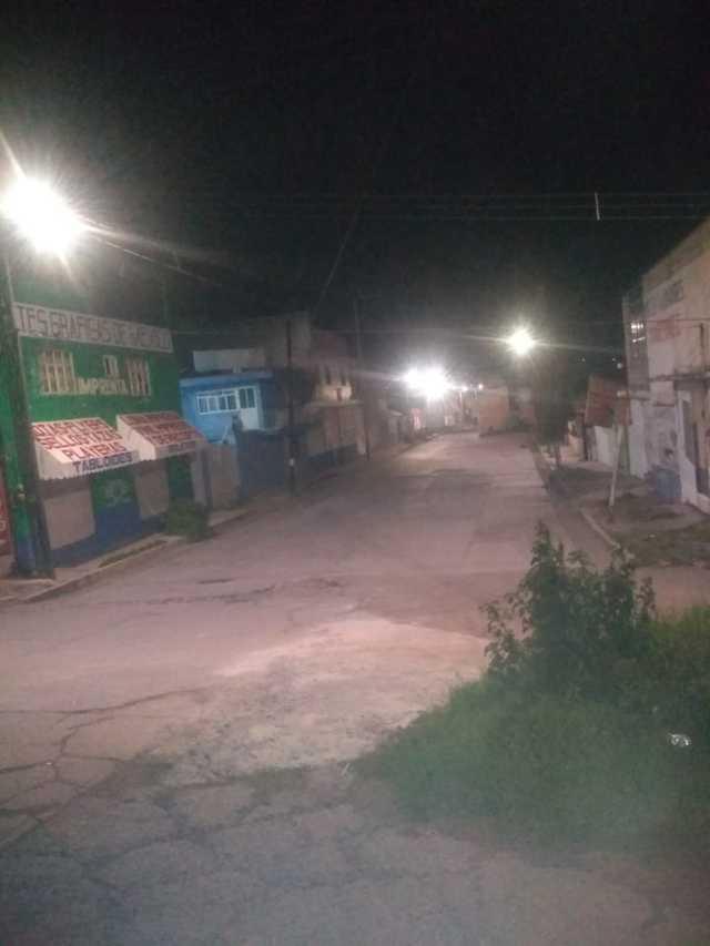 En menos de 24 horas Gobierno de Apizaco atiende peticiones de alumbrado