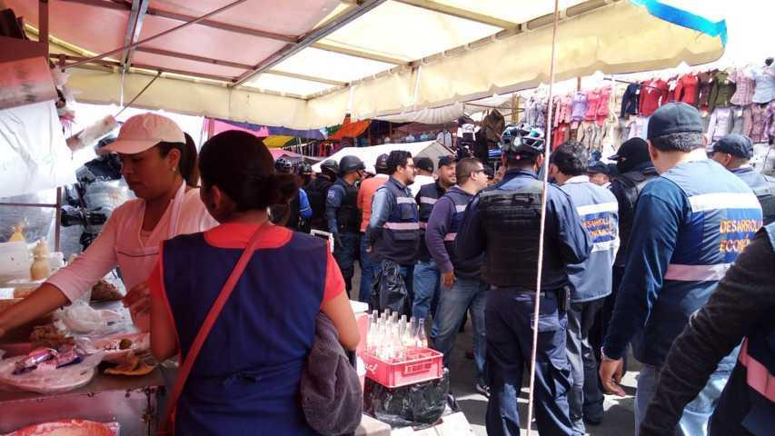 Retomará Gobierno de Apizaco operativos en comercio ambulante