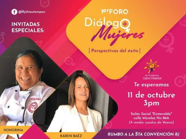 Primer Foro de Diálogo con Mujeres en Chiautempan