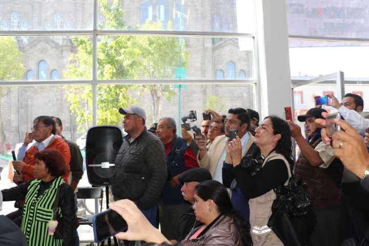 Grupo de periodistas provoca molestia e inconformidad entre los apizaquenses