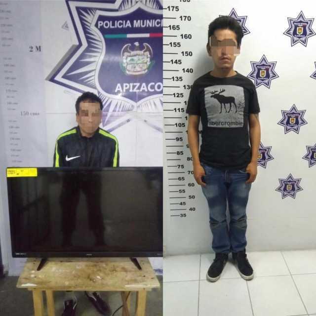 Coordinación policíaca en Apizaco, permite frustrar robo a casa habitación